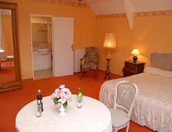 Chambre 2 chateau de Quineville - Cotentin